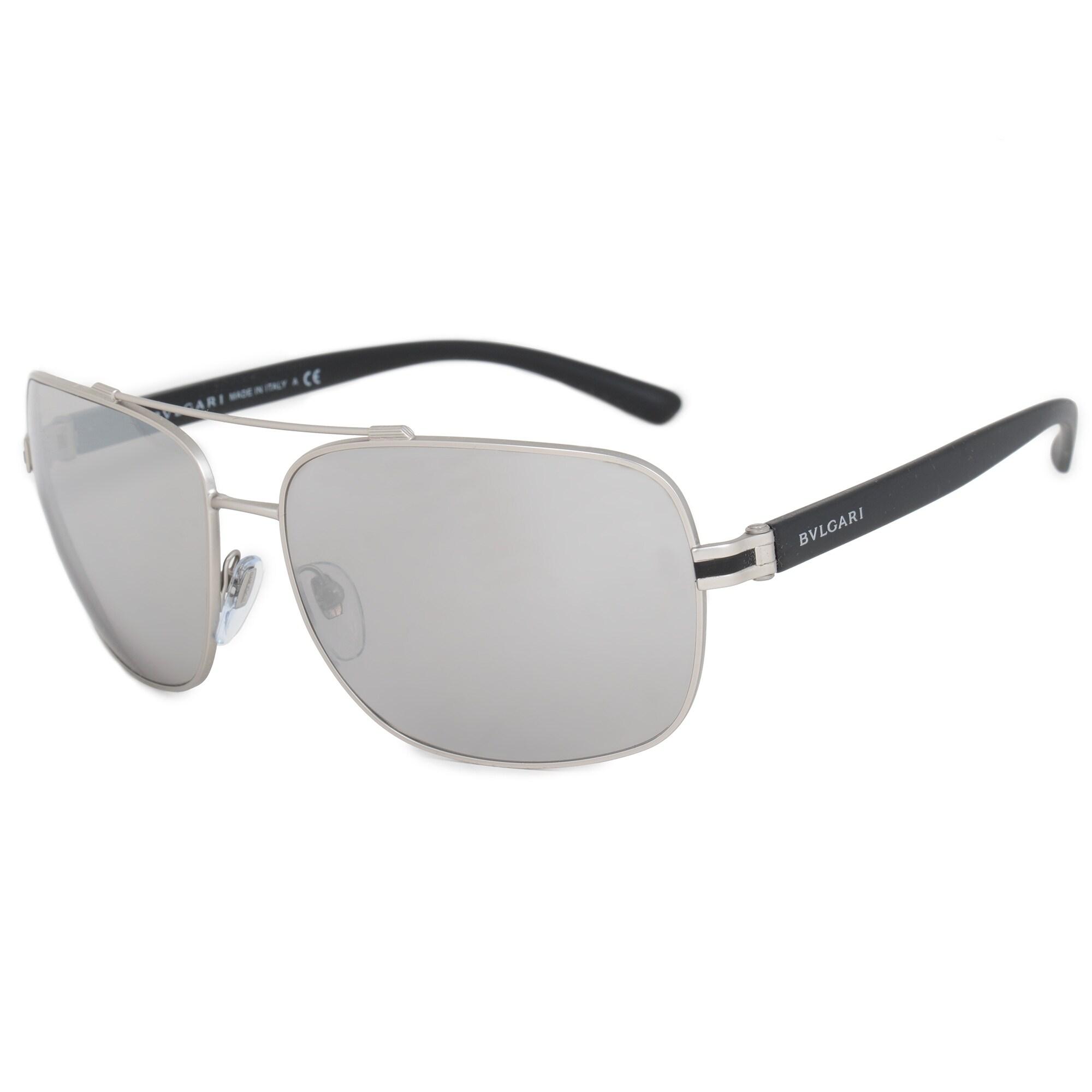 7d801e1bcaf Shop Bvlgari Aviator Sunglasses BV5038 400 6G 63 - Ships To Canada -  Overstock - 21408903