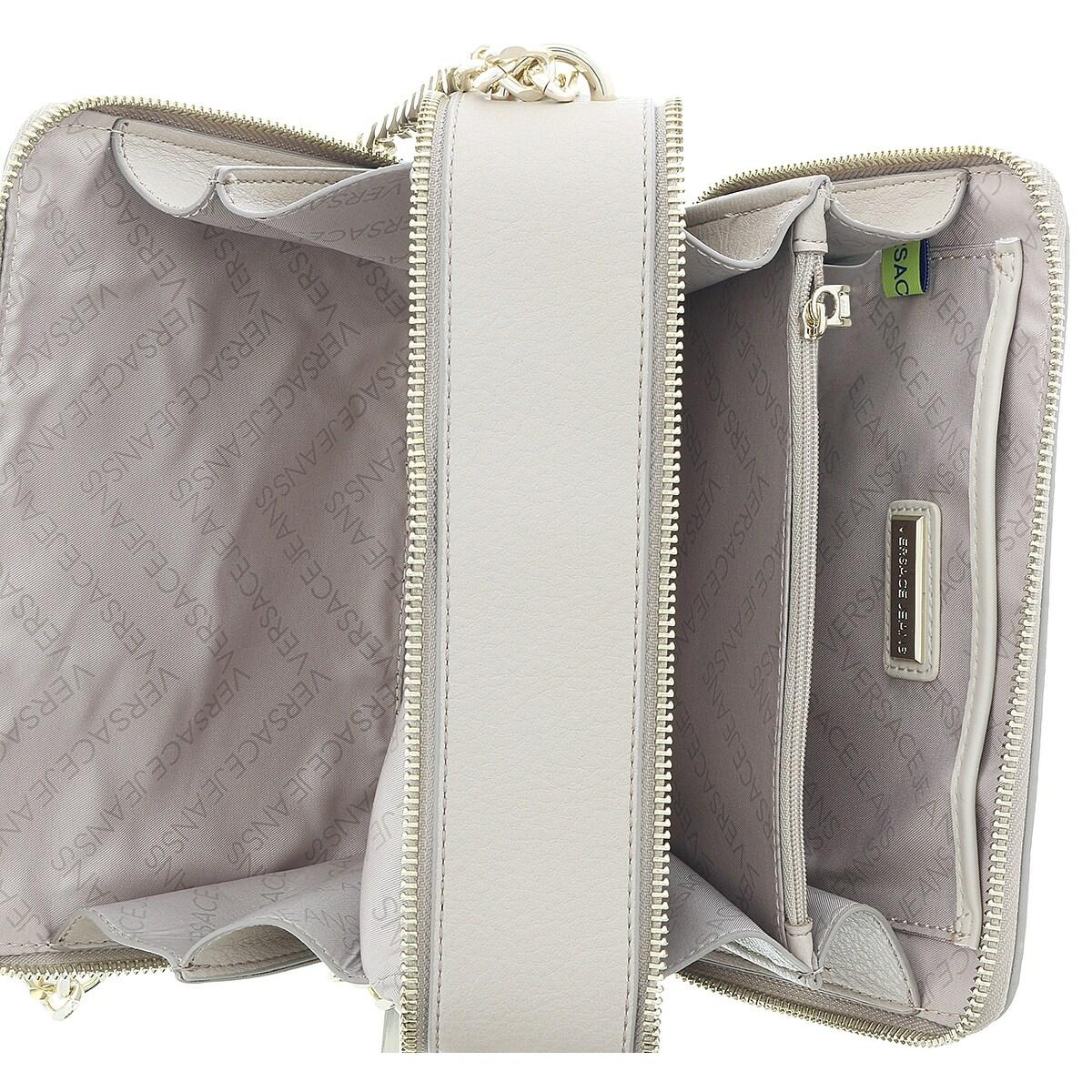 7f903e398f Shop Versace EE1VRBBC2 Beige Shoulder Bag - 8-5-4 - Free Shipping Today -  Overstock.com - 20227088