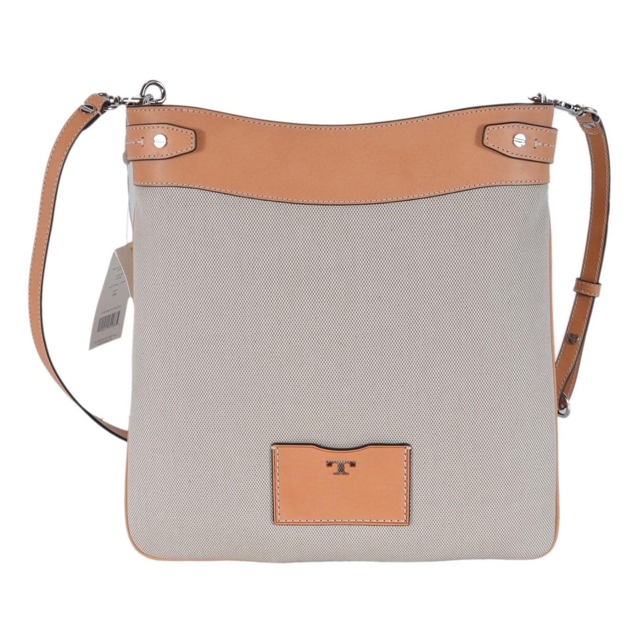 5a518d8fd04 Shop Tory Burch Moto 47979 Tall Canvas Crossbody Swingpack Purse Bag - Free  Shipping Today - Overstock - 25582262