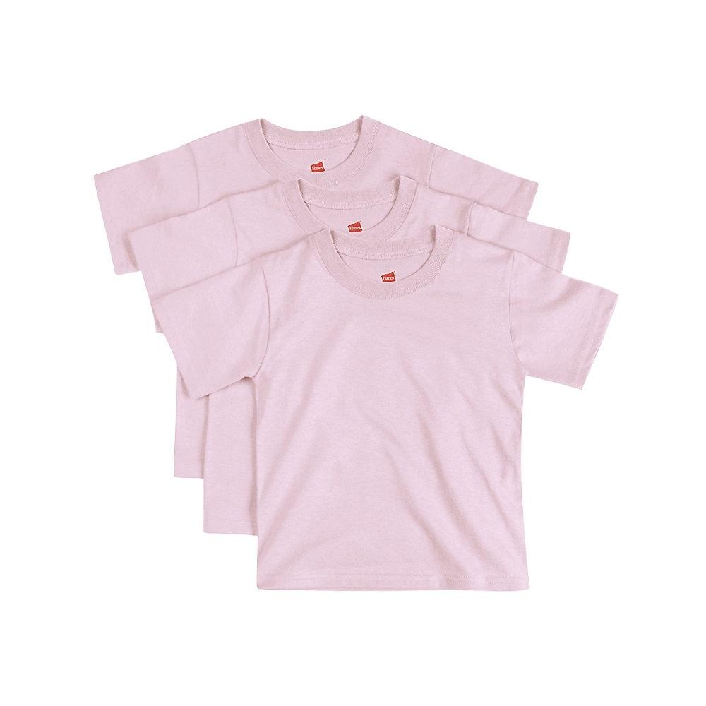 Hanes Comfortsoft Toddler Crewneck T Shirt 3 Pack Size 2t
