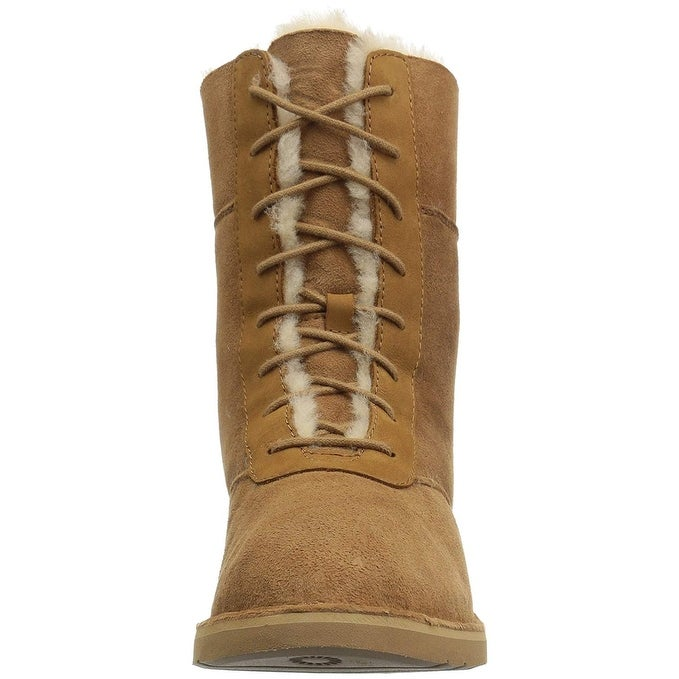 f0e9cd3033b Ugg Womens Daney Suede Round Toe Mid-Calf Cold Weather Boots