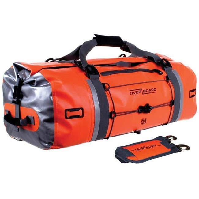 a4b3f6131a Shop Overboard 418695 60 litre Pro-Vis Waterproof Duffel Bag