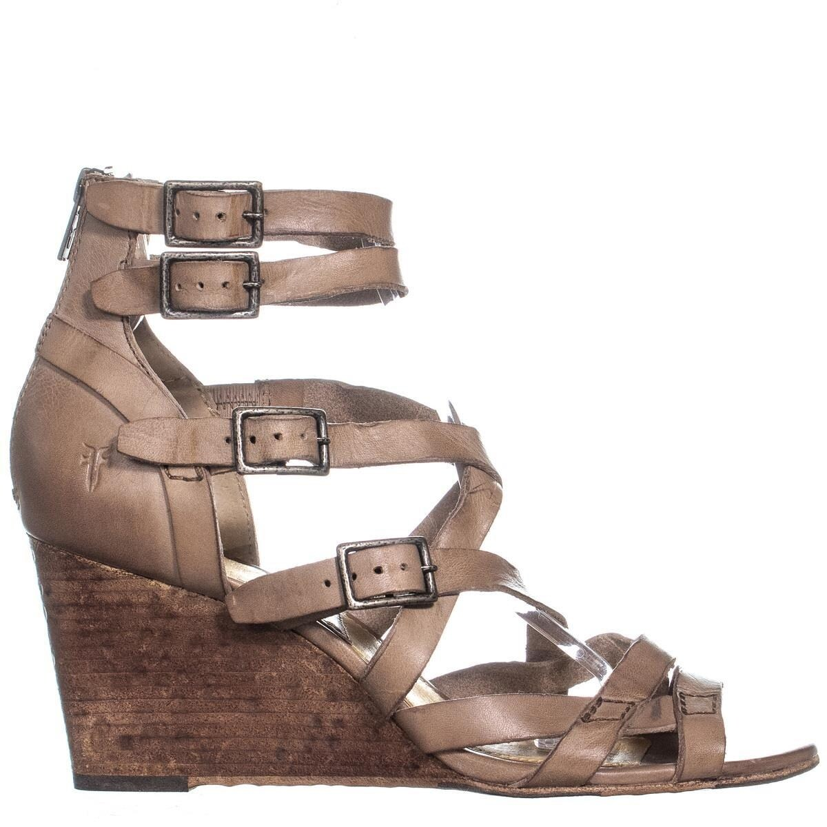 8557412adfcc4 Shop FRYE Rain Strappy Wedge Gladiator Sandals