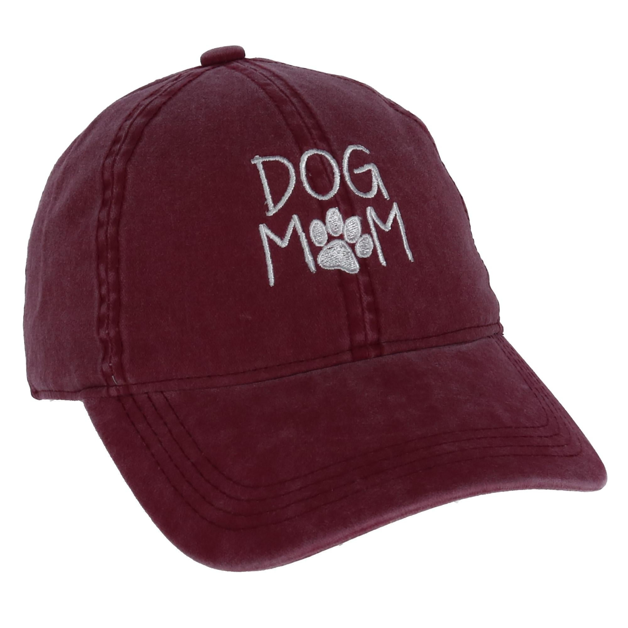 90ced0b63 David & Young Women's Dog Mom Embroidered Baseball Cap
