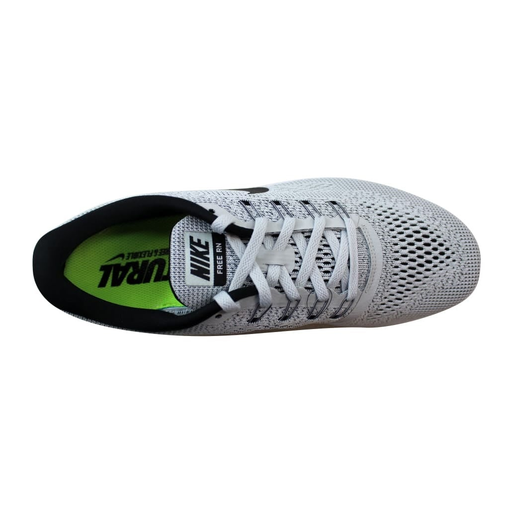 best sneakers 37fc2 bfe01 Shop Nike Women s Free Run White Black-Pure Platinum nan 831509-101 Size 6  - Free Shipping Today - Overstock - 21892890