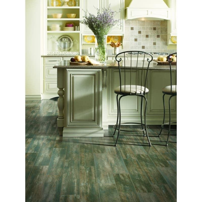 Shop Mohawk Industries 16357 Antique Charcoal Porcelain Floor Tile