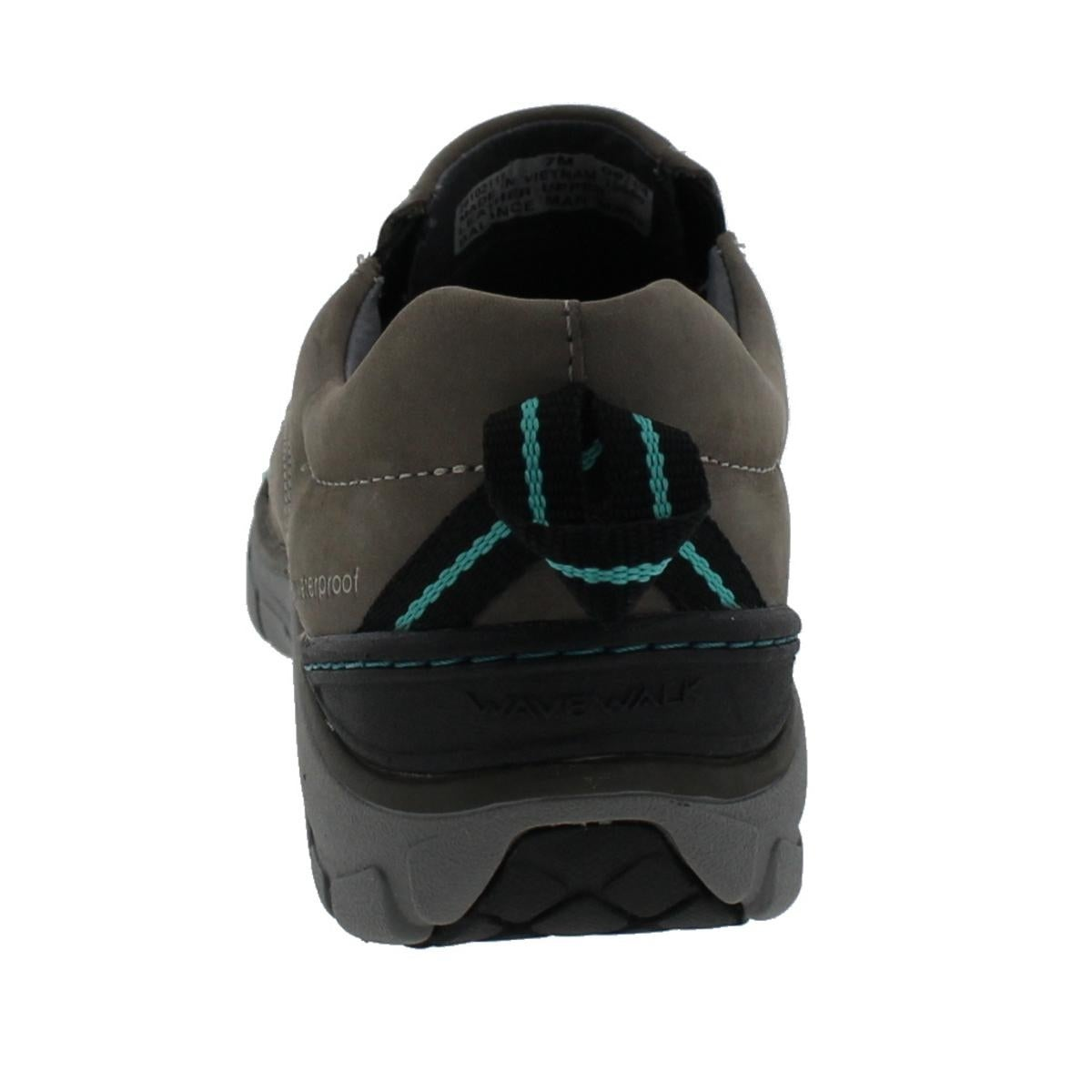 9f51f2f35b0 Shop Clarks Womens Wave Brook Walking Shoes Leather Waterproof - 7 medium (b