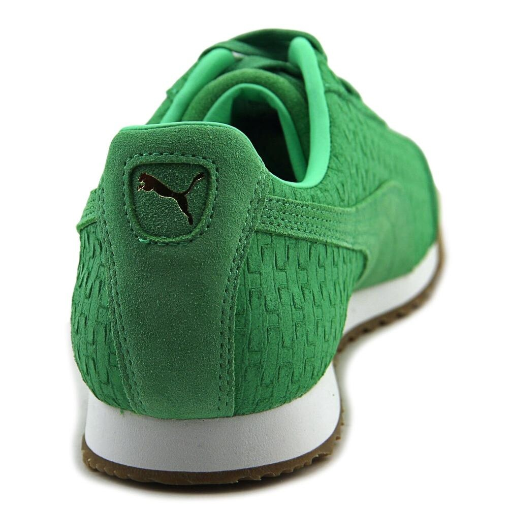 c551cad0e78 Shop Puma Roma Mono Emboss Women Round Toe Leather Green Sneakers - Free  Shipping On Orders Over  45 - Overstock - 13575134