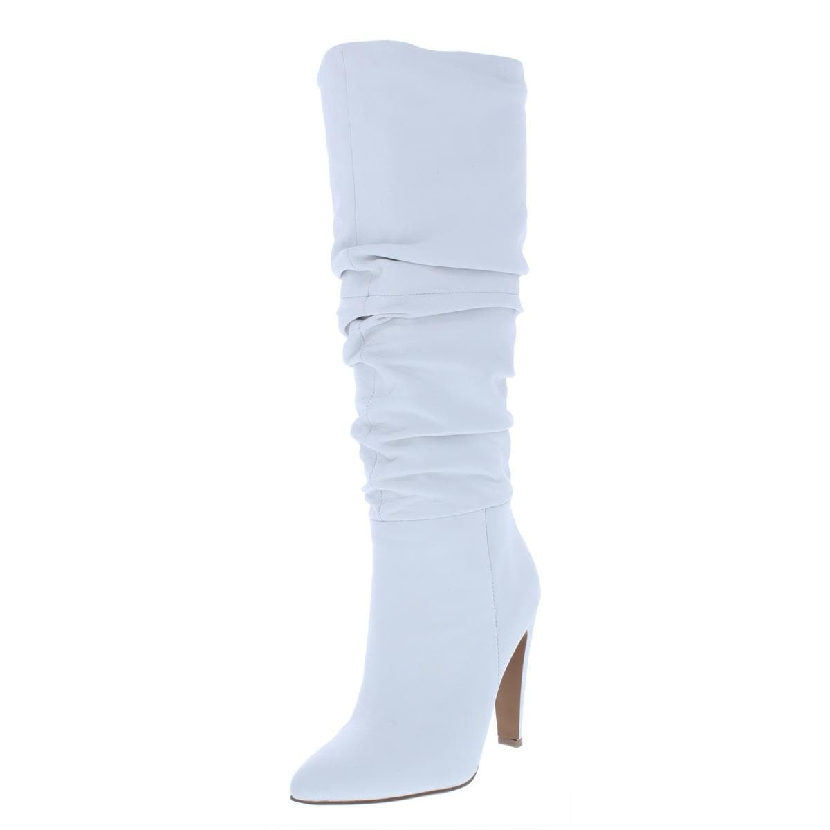 2ed10915c48 Shop Steve Madden Womens Carrie Dress Boots Slouchy Pointed Toe ...