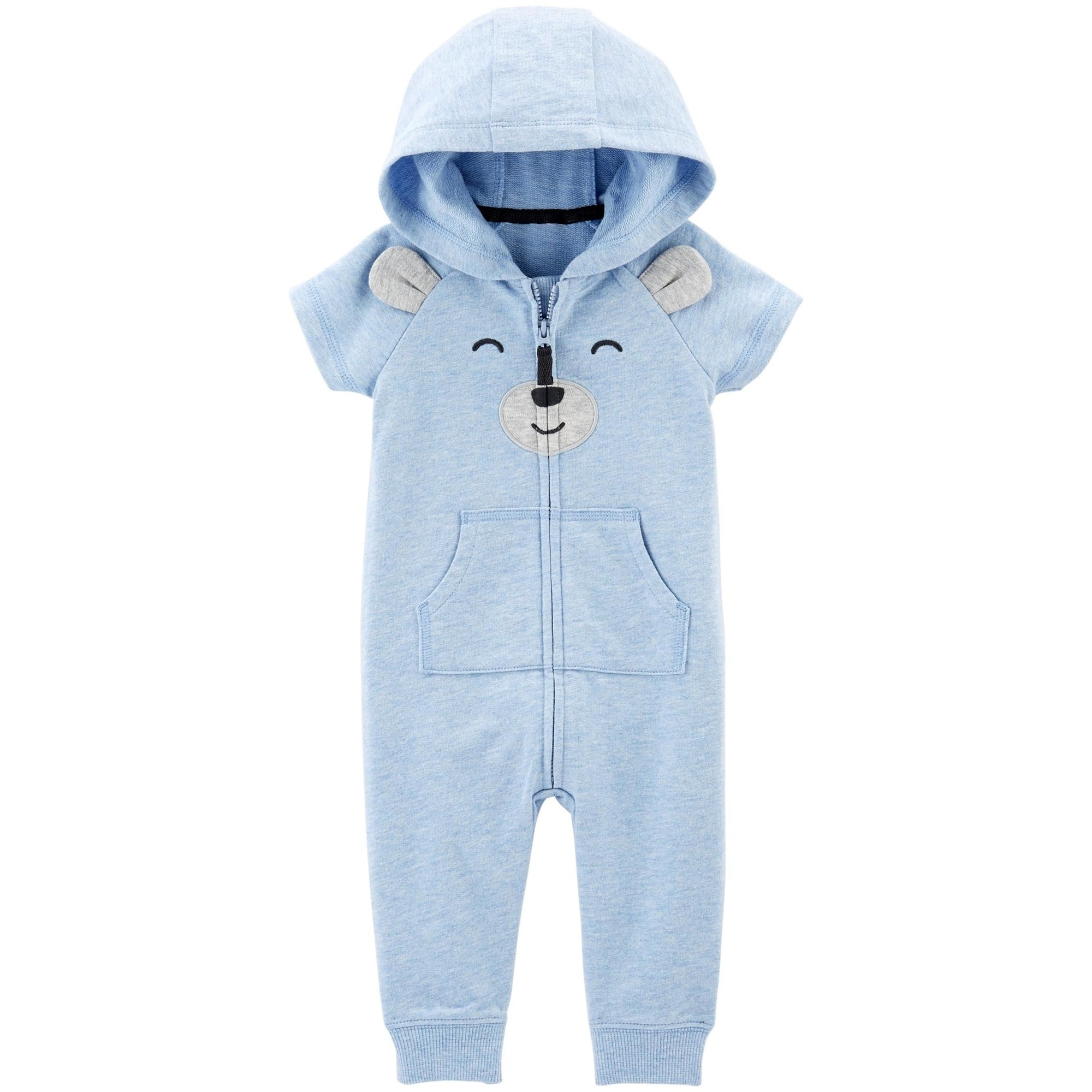 e41ac2a2706 Shop Carter s Baby Boys  Hooded Jumpsuit