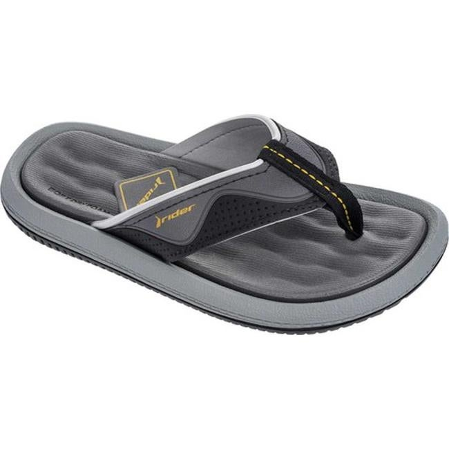 0f60046d129 Shop Rider Children s Dunas X Thong Sandal Black Grey - Free Shipping On  Orders Over  45 - Overstock - 20296939