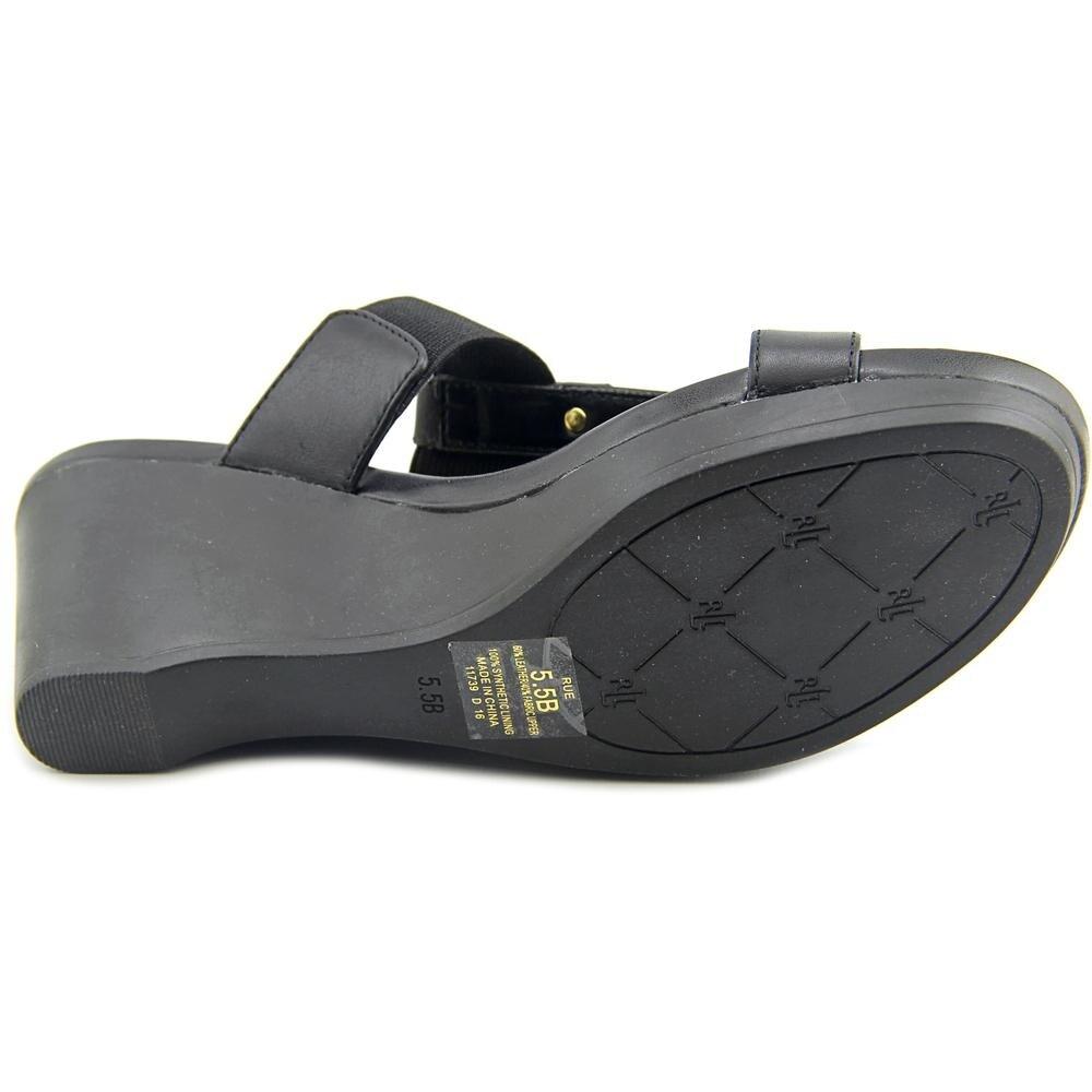 5eabf7a92a42 Shop Lauren Ralph Lauren Rue Wedge Women Black Sandals - Free Shipping On  Orders Over  45 - Overstock - 14468138