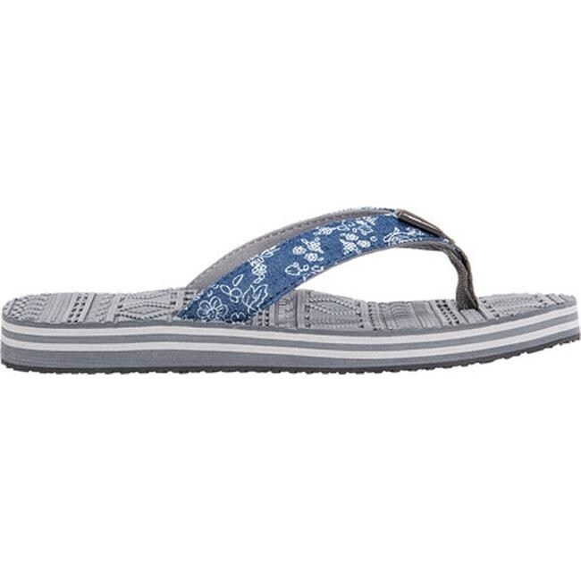 9bfb273967e Shop MUK LUKS Women s Emma Sporty Flip Flop Denim Polyester - Free Shipping  On Orders Over  45 - Overstock - 27347948