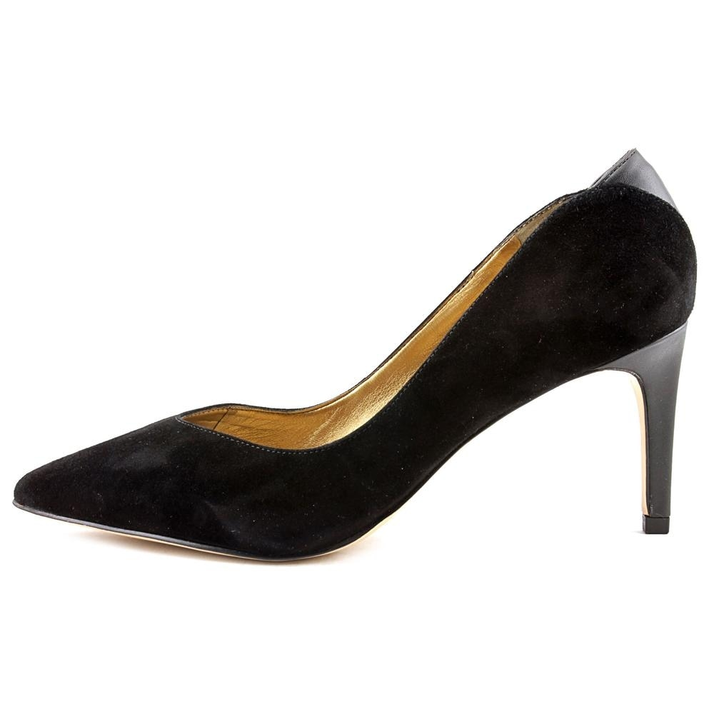 e34da6102 Shop Sam Edelman Orella Women Pointed Toe Suede Black Heels - Free Shipping  Today - Overstock.com - 15890387