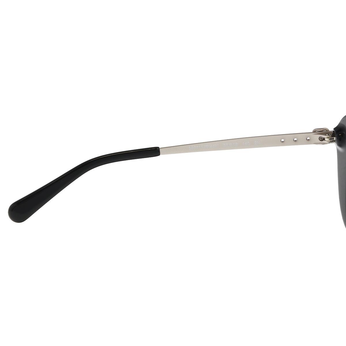 13728c97056 Shop Coach HC8229 550111 Black Rectangle Sunglasses - 55-18-140 - Free  Shipping Today - Overstock.com - 21389186