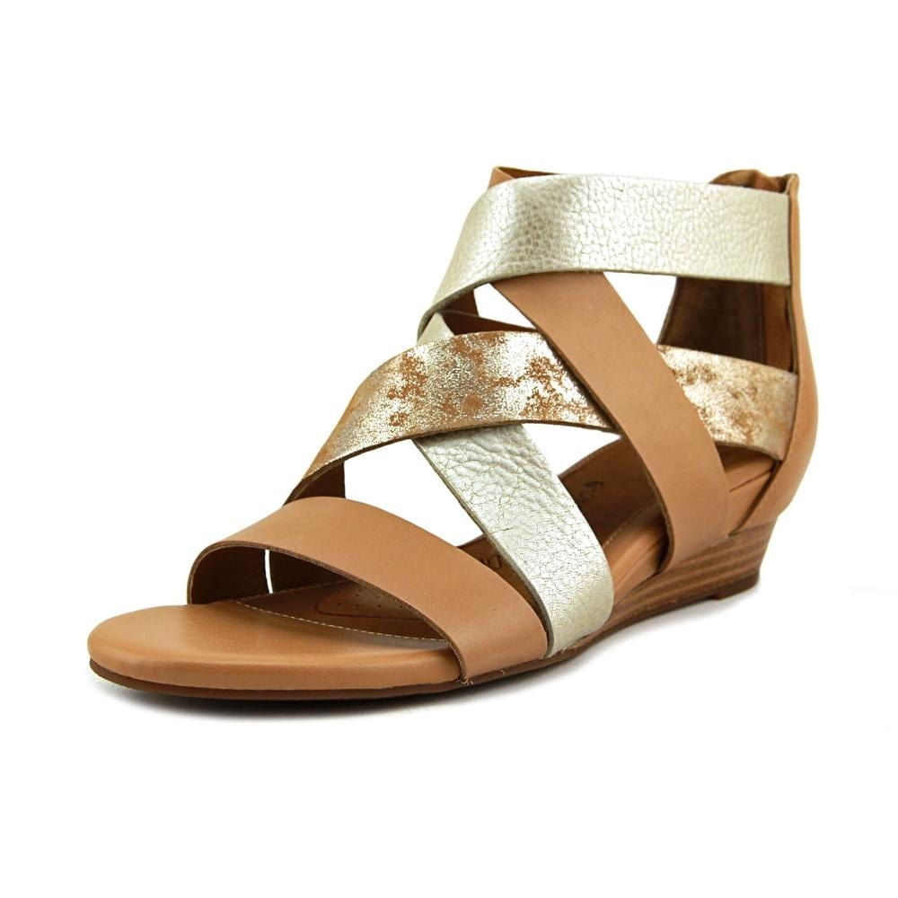 b83fbecdea Shop Sofft Rosaria Open Toe Leather Wedge Sandal - Ships To Canada -  Overstock - 17780684