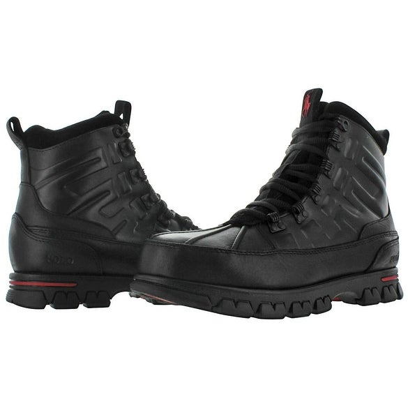 Shop Polo Ralph Lauren Men s Delton Duck Leather Boots - Free Shipping  Today - Overstock - 15859404 2de8688a3