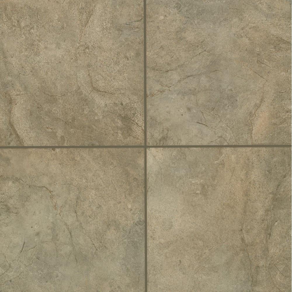 Shop Mohawk Industries 16012 Mocca Ceramic Floor Tile 12 Inch X 12