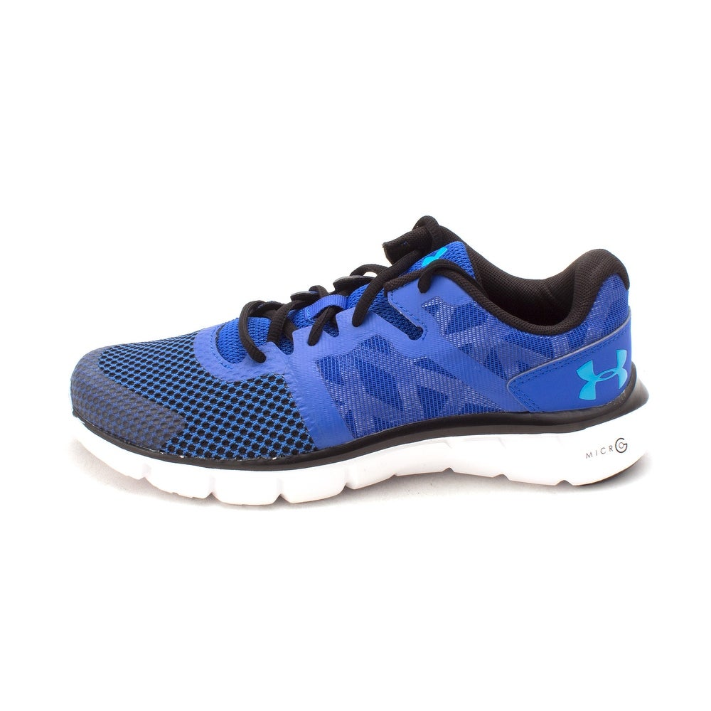 ea1410e1f560 Under Armour Boys micro G shift run Low Top Lace Up Running Sneaker - youth  5 1 2 m