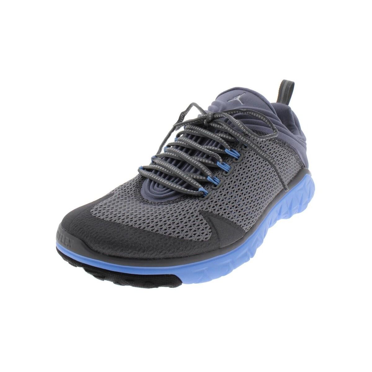new styles fb603 b03ca Nike Mens Jordan Flight Flex Trainer Basketball Shoes Mesh Low Top