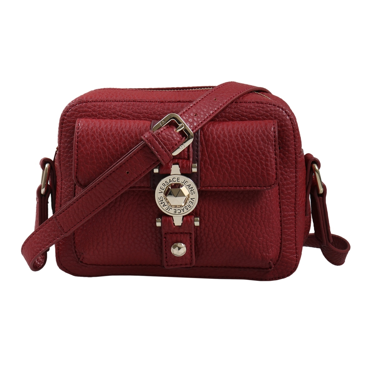 Shop Versace EE1VSBBF1 E331 Red Shoulder Bag - 8-6.25-2.75 - Free Shipping  Today - Overstock - 25601678 8ce2cb39208a7