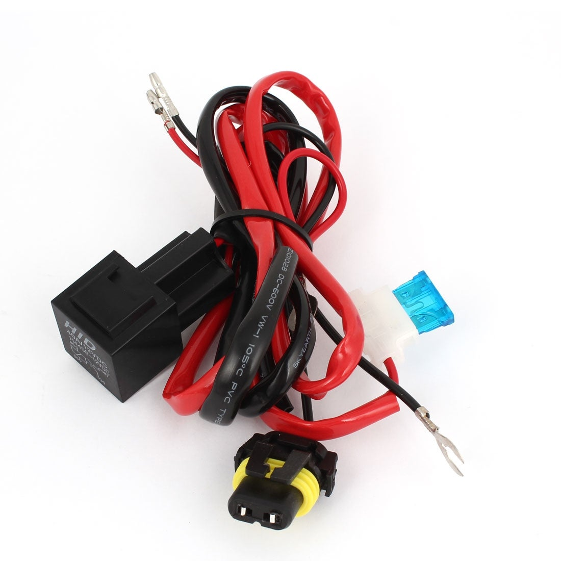 Shop Unique Bargains Dc12v Motorcycle Hid H4 Bi Xenon Hi Lo Foglight Find This Product Under 40a 12v Dc Fuse Relay Wire Wiring Harness Controller W On Sale Free Shipping Orders Over 45