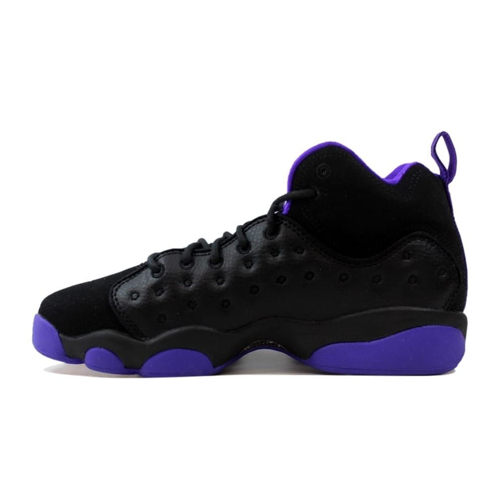 80504fd3d1b1c1 Shop Nike Air Jordan Jumpman Team II 2 GG Black Ember Glow-Fierce Purple  Grade-School 820276-017 Size 5 Medium - Free Shipping Today - Overstock -  27601073