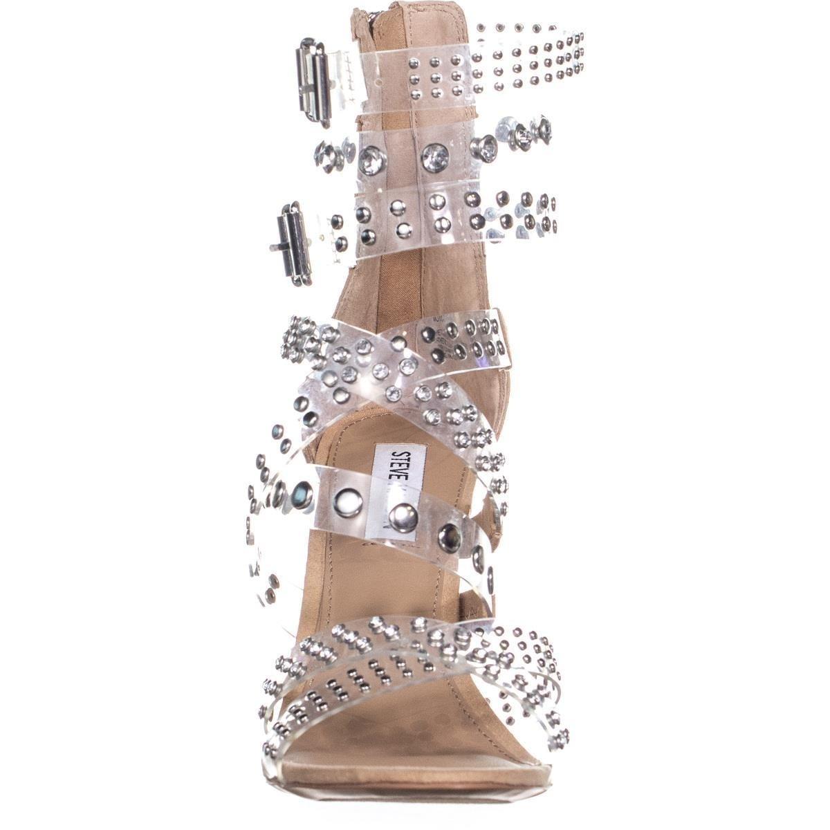 38c6c88d3352 Shop Steve Madden Moto Studded Gladiator Sandals