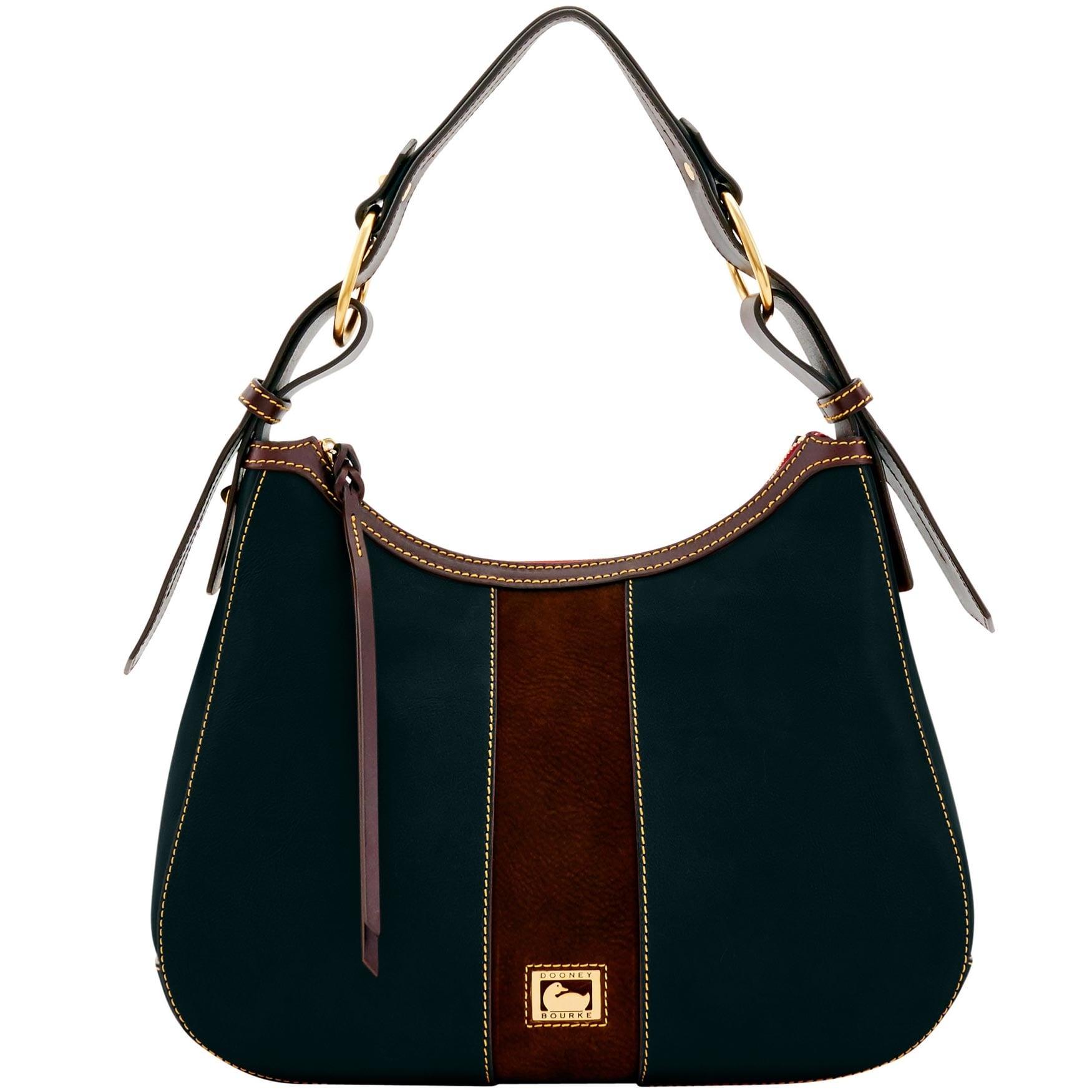 bab7aeecae0c Dooney And Bourke Black Suede Handbags