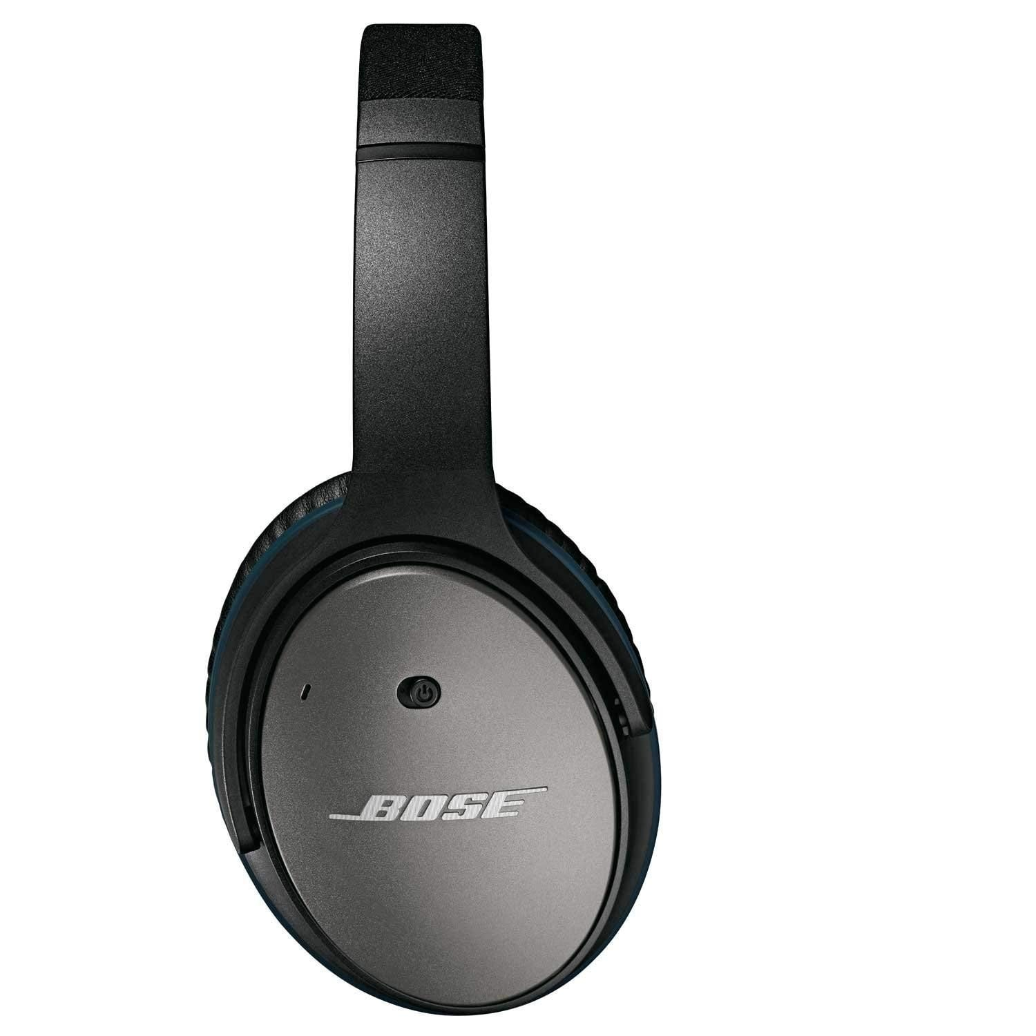 new concept dc9ed a03bb Bose QuietComfort 25 Acoustic Noise Cancelling Headphones - Black (wired,  3.5mm)