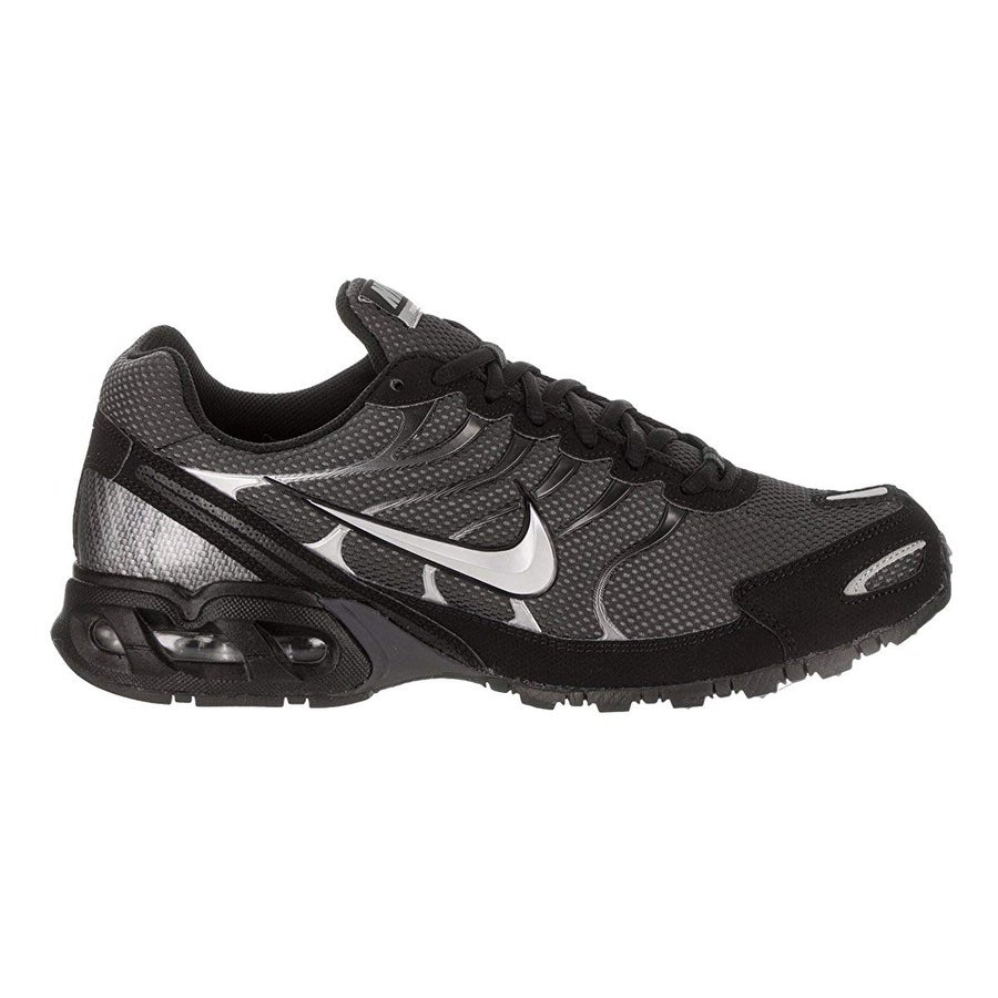 buy popular 79539 dc140 Shop Nike Men Air Max Torch 4 Running Shoes, Anthracite Metallic Silver- Black, 10 D(M) Us - Free Shipping Today - Overstock - 25590360