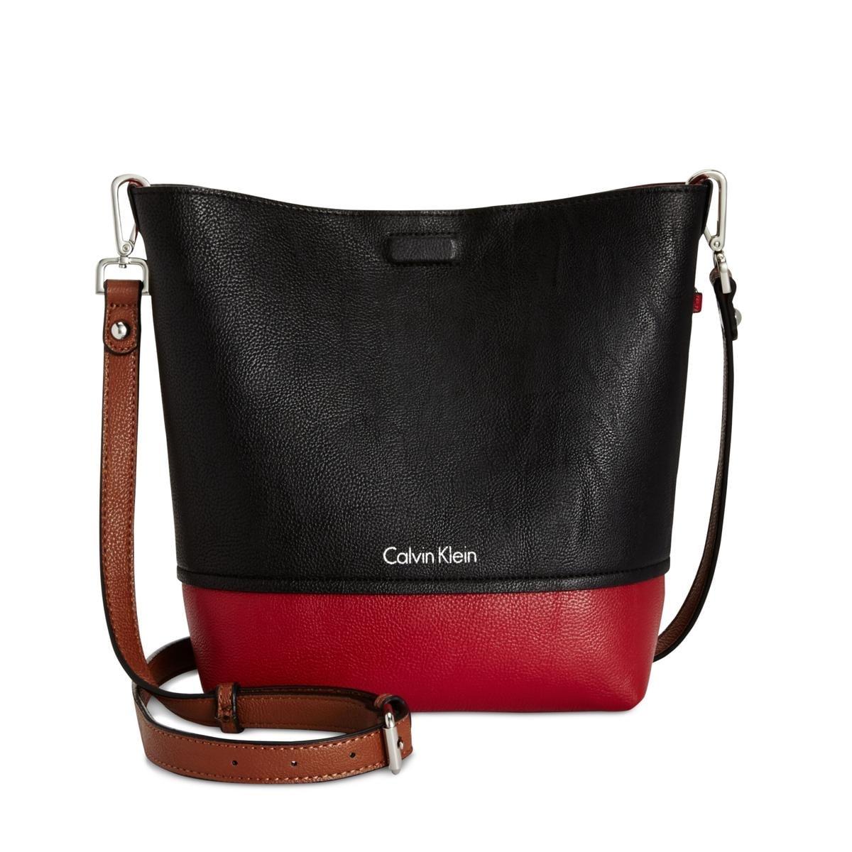 55e88e4755b Shop Calvin Klein Womens Kixbody Crossbody Handbag Colorblock Reversible -  MEDIUM - Free Shipping Today - Overstock - 20865662