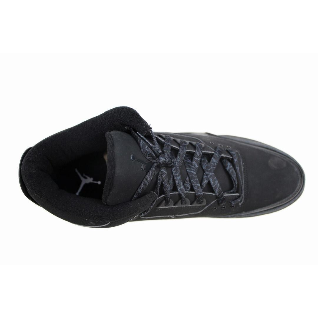 e2b790c5180 Shop Nike Men's Air Jordan III 3 Retro Black/Dark Charcoal Black Cat  136064-002 Size 18 - Free Shipping Today - Overstock - 20129227