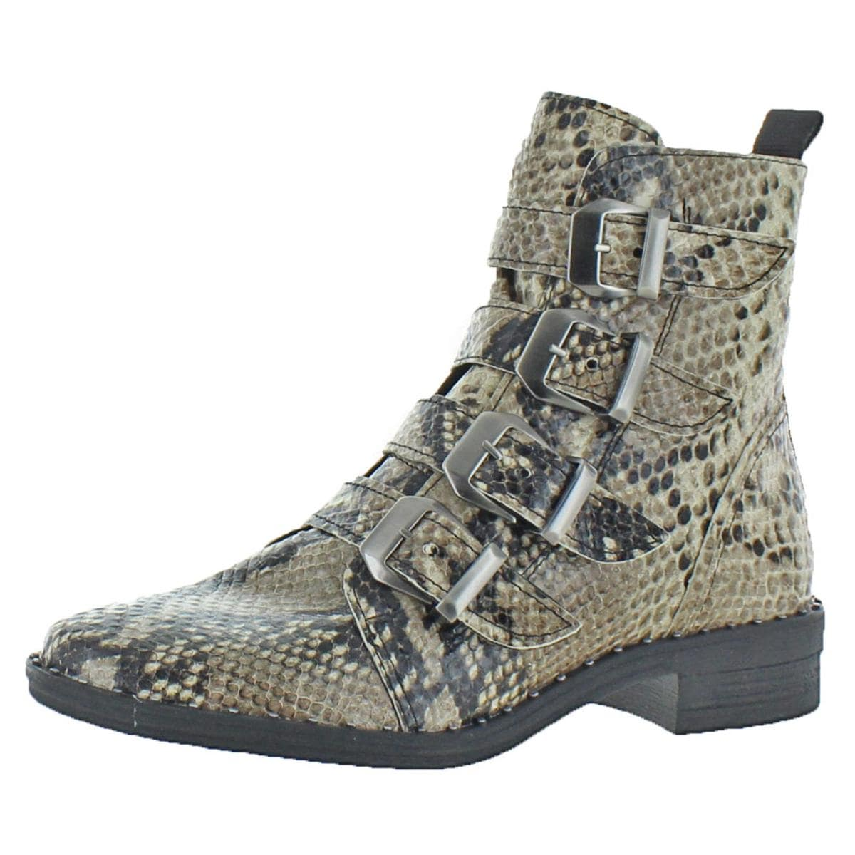 1a1bd3da48c Shop Steve Madden Womens Pursue Motorcycle Boots Buckle - Free Shipping On  Orders Over  45 - Overstock - 23903480