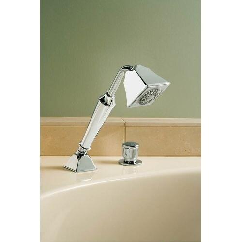 Shop Kohler K 424 Memoirs Deck Mount Hand Shower Holder With Hoses