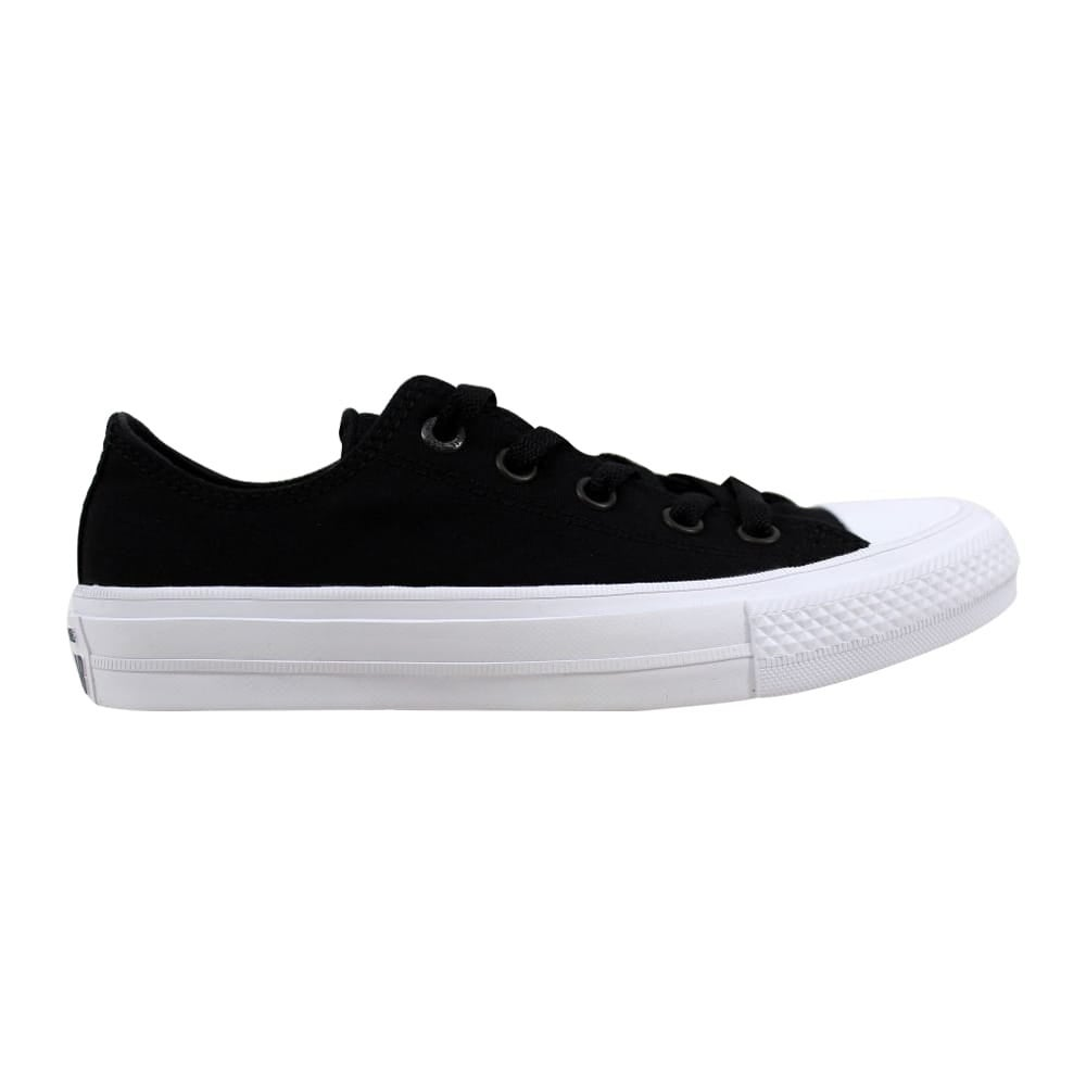 f1ae35d1f8f6 Shop Converse Chuck Taylor II OX Black White 150149C Men s - On Sale - Free  Shipping Today - Overstock - 21893565
