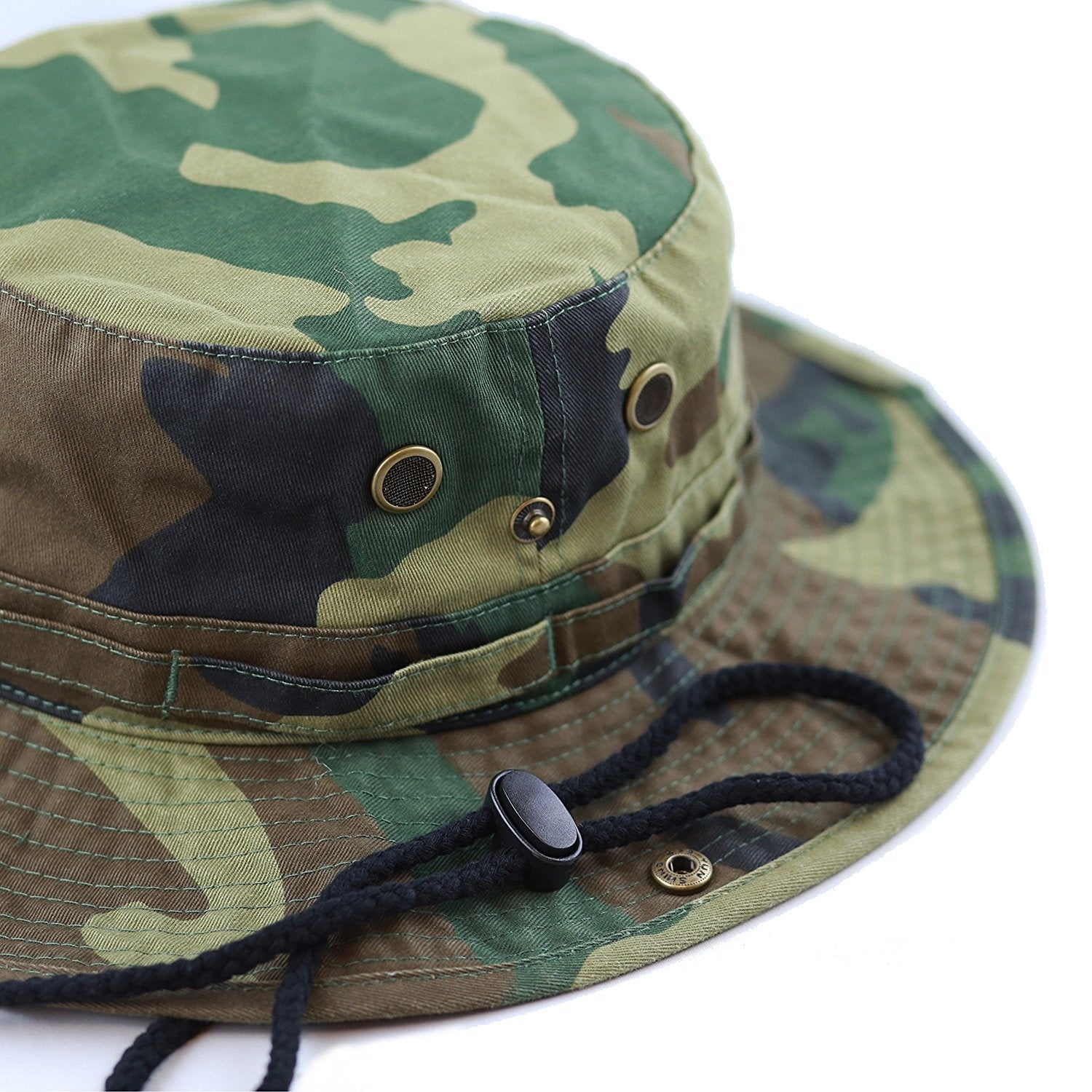 ecc2007a742 Shop Men Women Boonie hat Cotton Wide Brim Foldable Double-Sided Outdoor -  On Sale - Free Shipping On Orders Over  45 - Overstock - 22120775