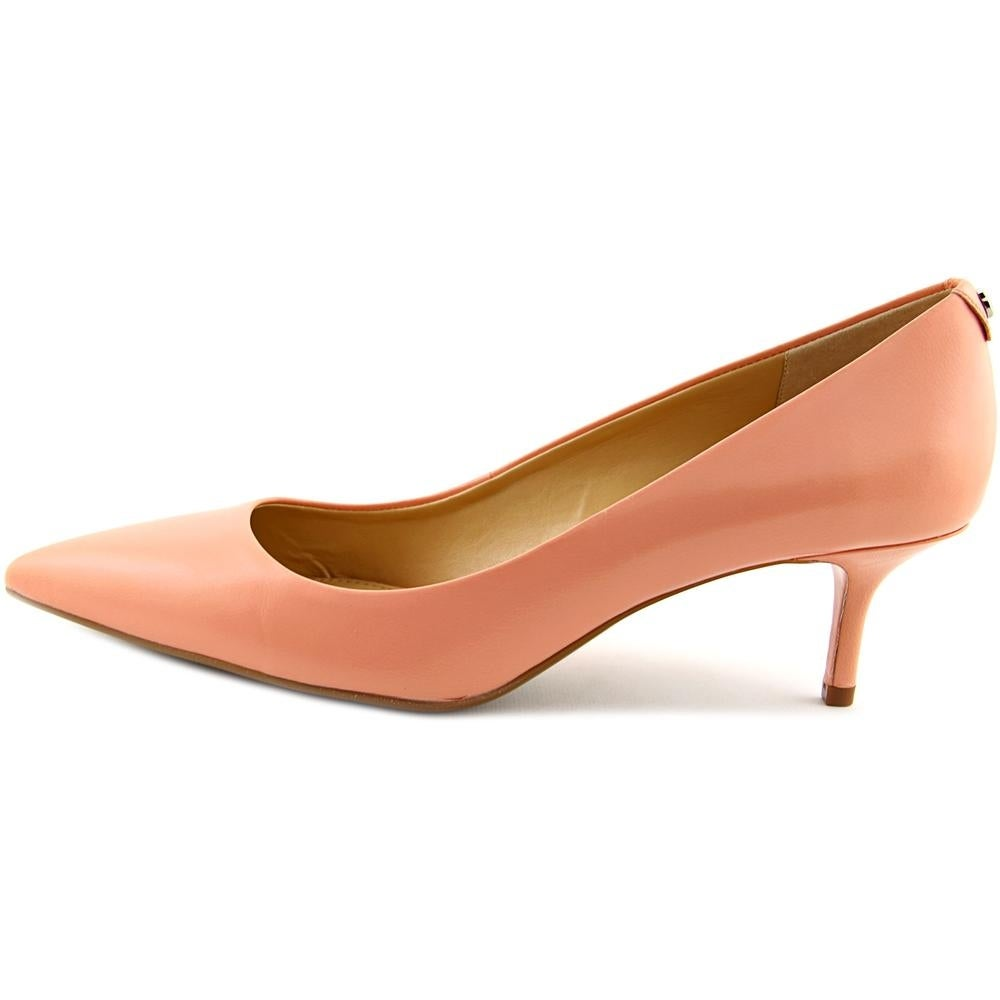 a399ac7ec16 Shop Michael Michael Kors MK Flex Kitten Pump Women Pale Pink Pumps - Free  Shipping On Orders Over  45 - Overstock - 15368365