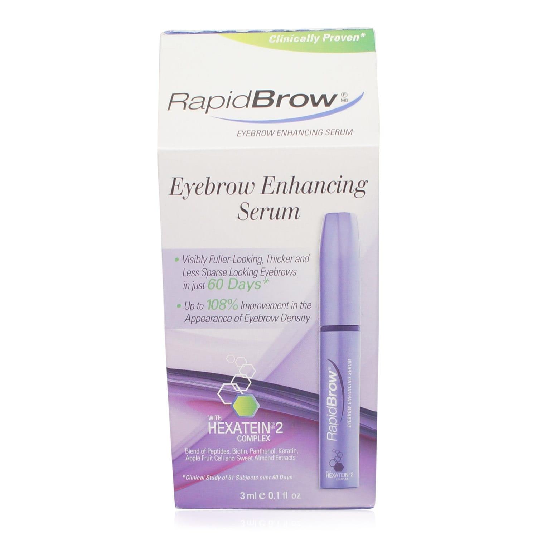Shop Rapidbrow Eye Brow Enhancing Serum 01 Oz Free Shipping On
