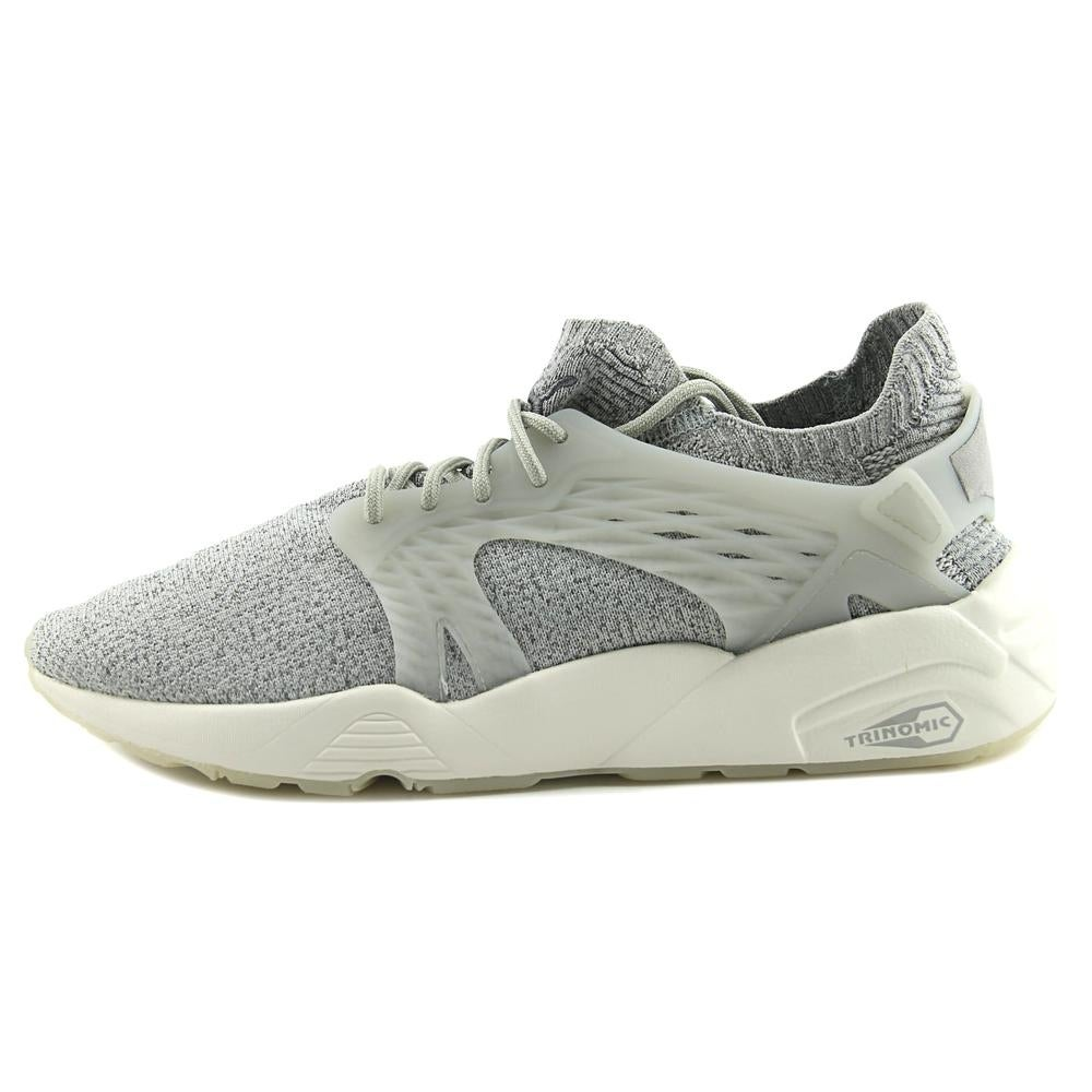 1ce19c7044e Shop Puma Blaze Cage EvoKnit Men Synthetic Gray Fashion Sneakers - Free  Shipping Today - Overstock.com - 19843505