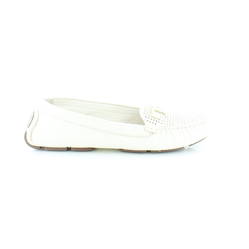 5672458218316 Shop Tory Burch Culver Women s Flats   Oxfords Ivory - 7.5 - Free Shipping  Today - Overstock.com - 21553705