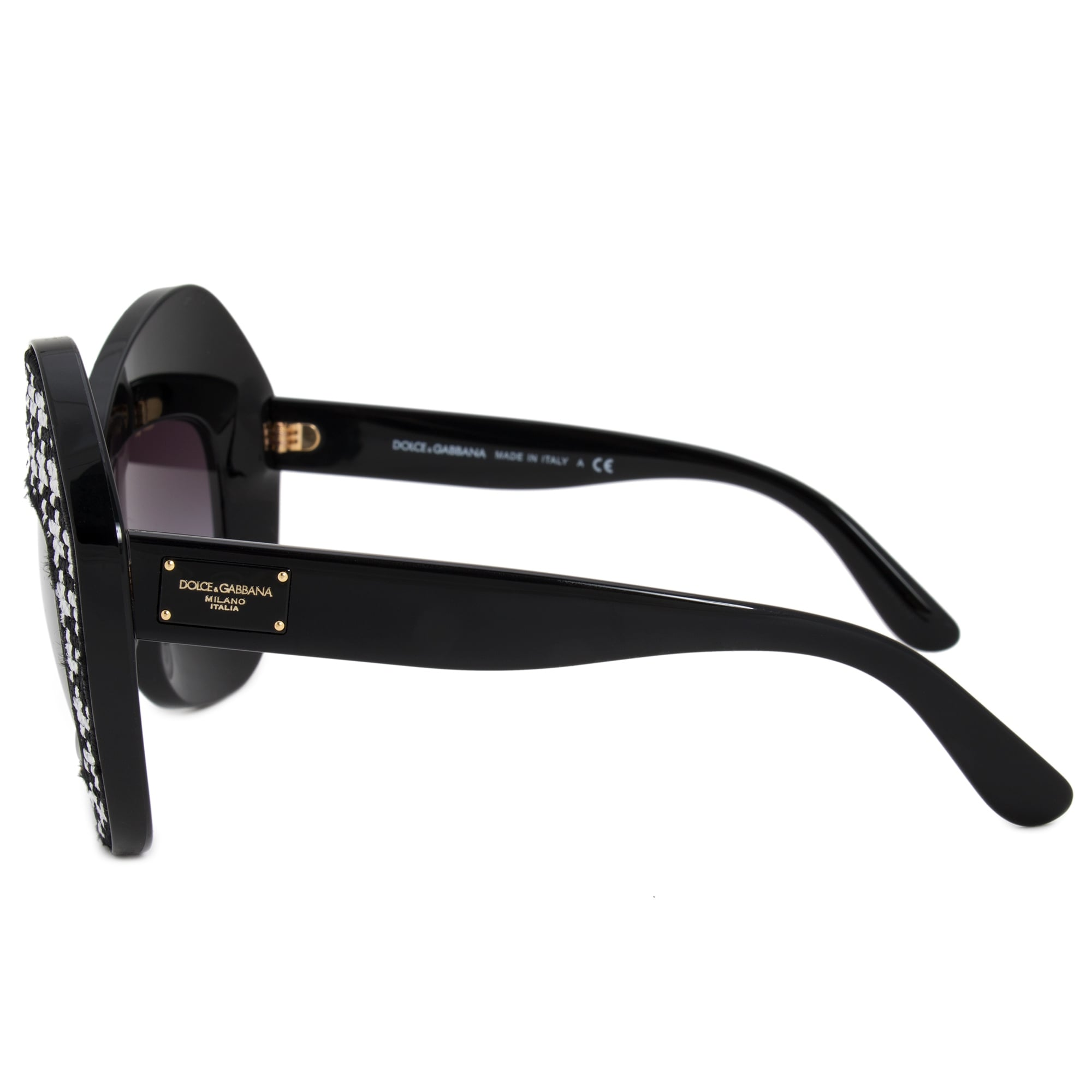 7335f651112 Shop Dolce   Gabbana Cat Eye Sunglasses DG6108 501 8G 50 - Free Shipping  Today - Overstock - 19622747