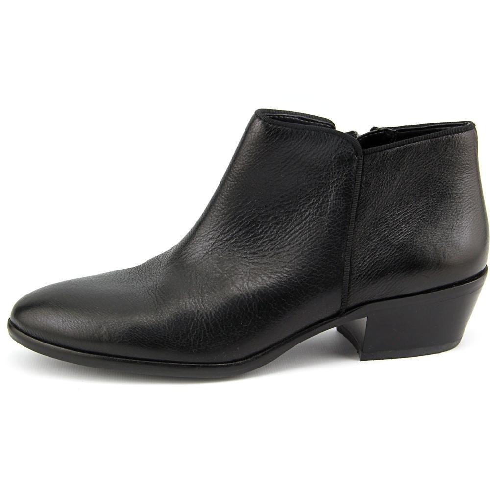 882c1f15257d71 Shop Sam Edelman Petty Women Round Toe Leather Black Ankle Boot ...