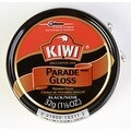 Kiwi Parade Gloss Premium Shoe Polish Paste, 1-1/8 oz, Black, 3-Pack