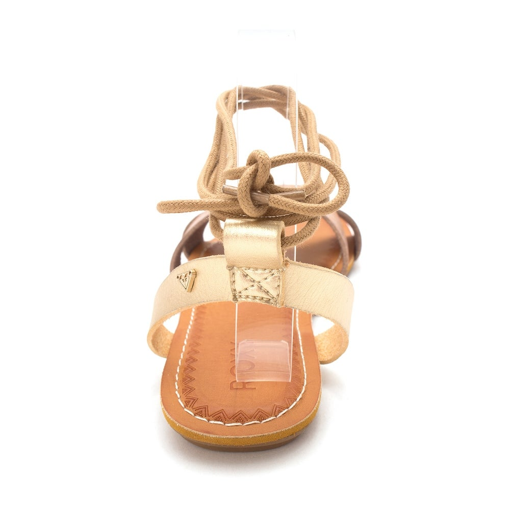 7b7ad94fe94 Shop Roxy Womens TEL AVIV Open Toe Casual Gladiator Sandals - Free Shipping  On Orders Over  45 - Overstock.com - 18219287