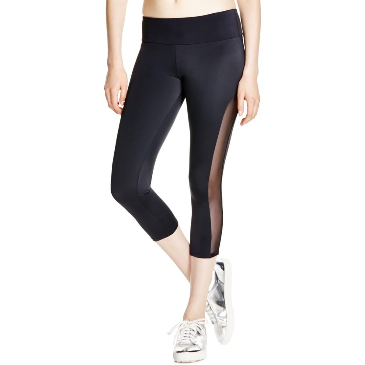 62c9edd92ec3c Shop Onzie Womens Capri Pants Tuxedo Polyester - Free Shipping On Orders  Over $45 - Overstock - 16696412