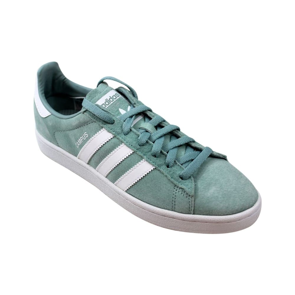 edcb12fadcf3 Shop Adidas Campus Tactile Green White BZ0082 Men s - Free Shipping Today -  Overstock - 27640765