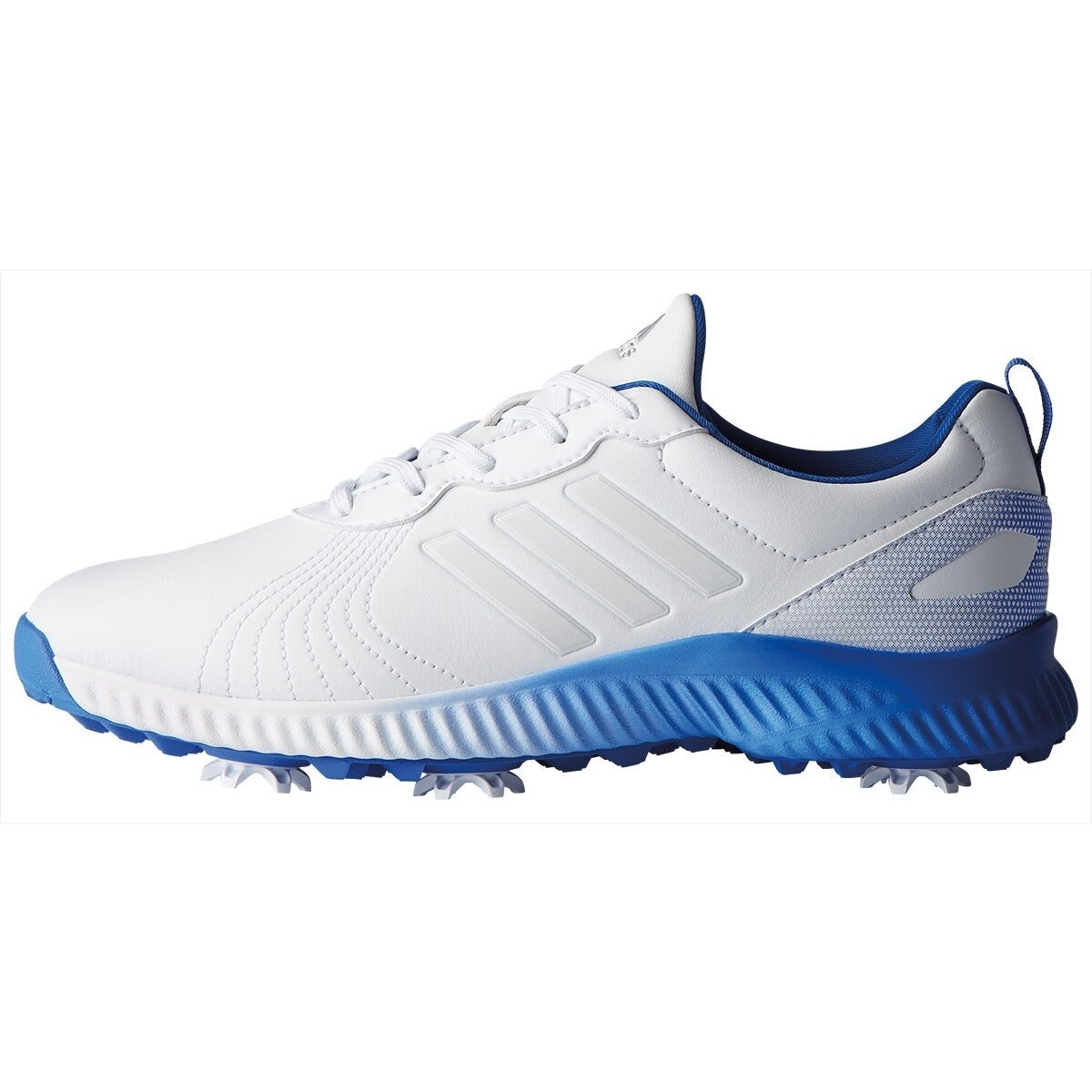 b1a5defba Shop New Adidas Women s Response Bounce Cloud White Cloud White Hi-Res Blue  Golf Shoes F33665 - Free Shipping Today - Overstock - 26234265