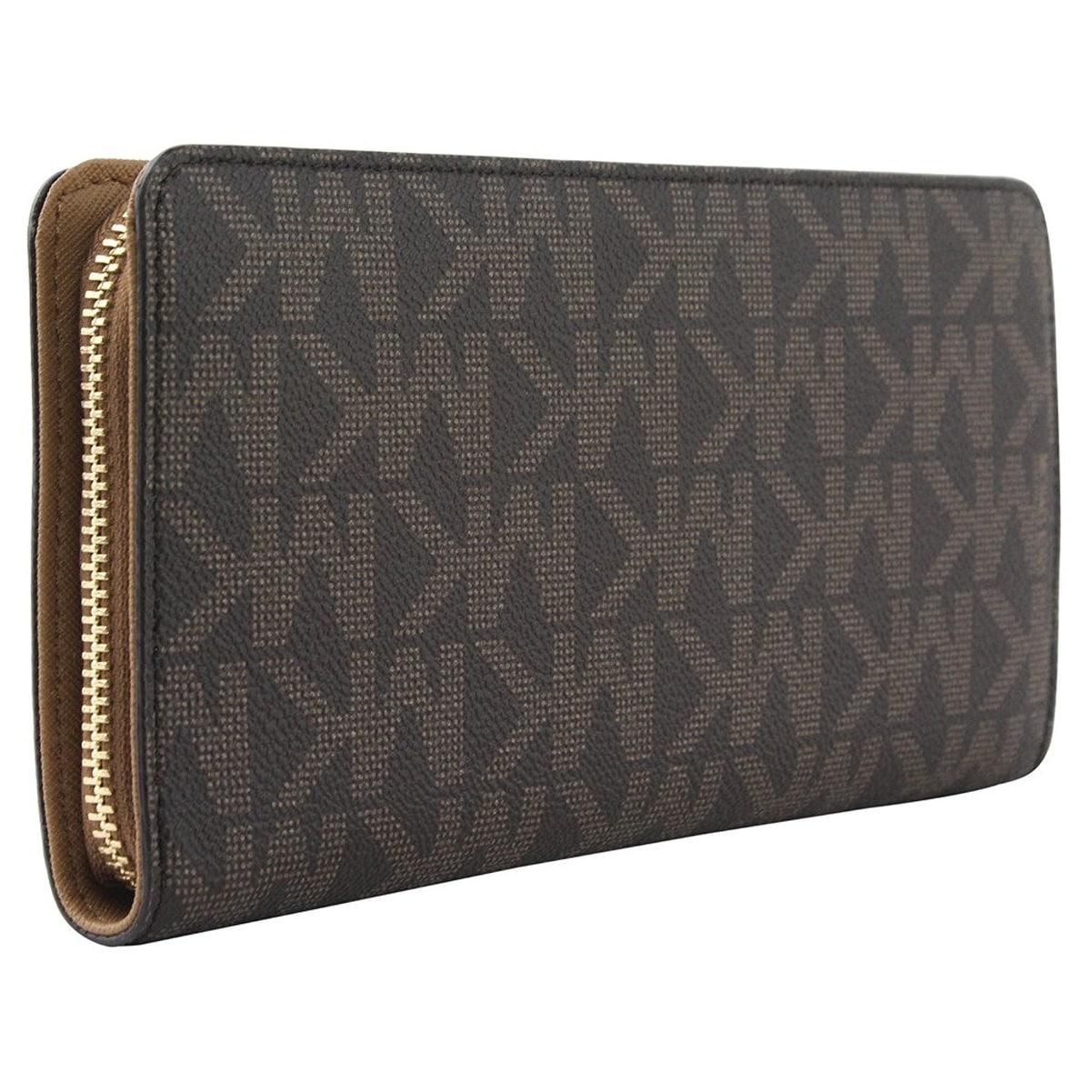 3c7647dab29dc3 Shop Michael Kors Hamilton Traveler Large Zip Around Wallet - Free Shipping  Today - Overstock - 18742264