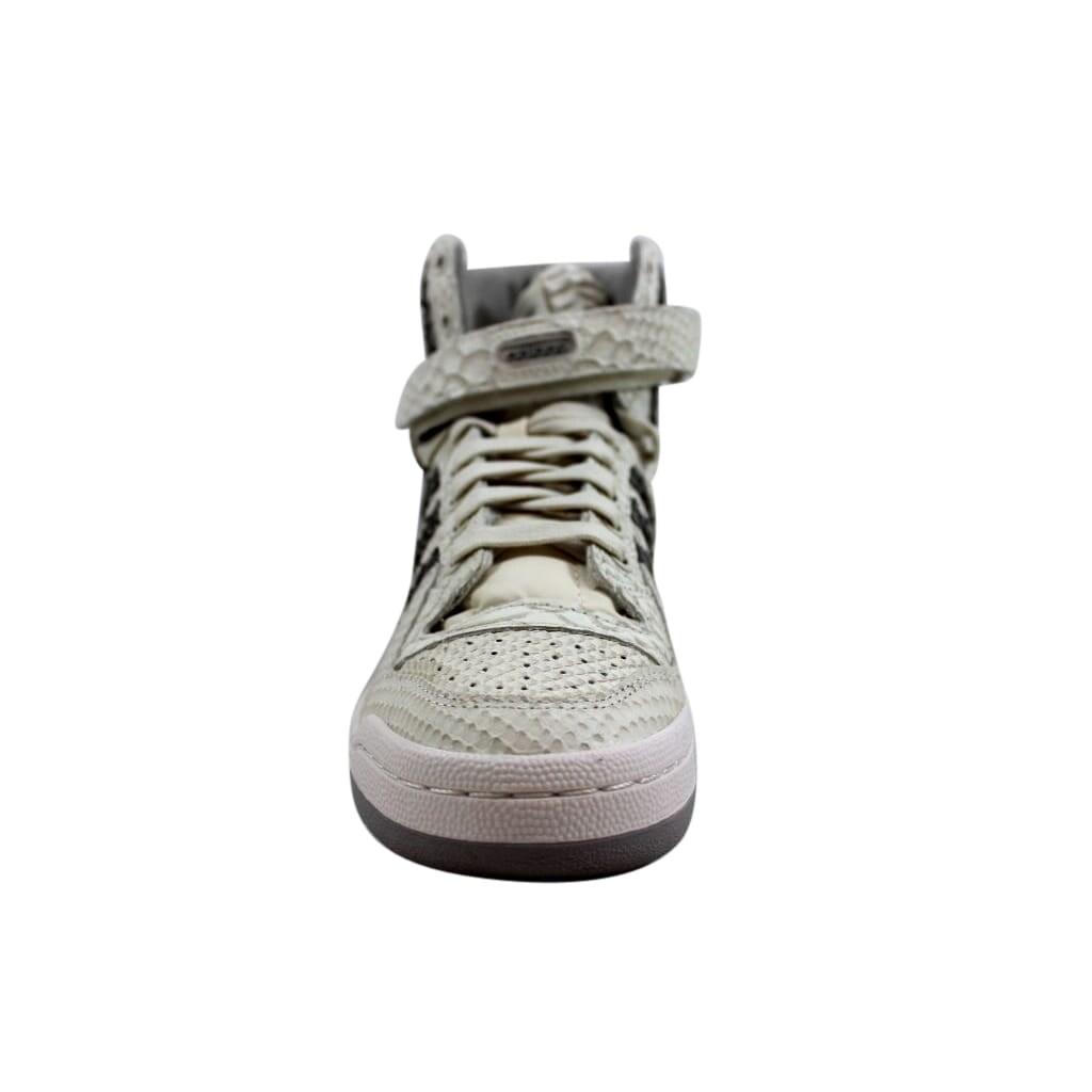 online retailer 6c01e cb2d5 Shop Adidas Mens Forum Hi OG WhiteGranite-White B27671 - Free Shipping  Today - Overstock - 24306142